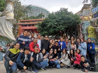 กิจกรรมบริษัทท่องเที่ยวประจำปี-2018ฮ่องกง